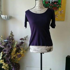 Old Navy purple  top M